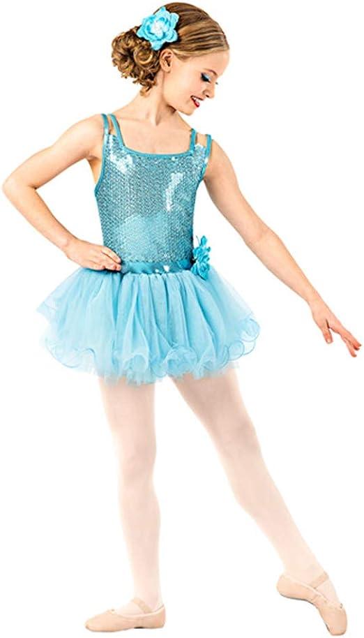 JIE. Tutu-Little Princess Falda Ballet Vestido Disfraz Lentejuelas ...