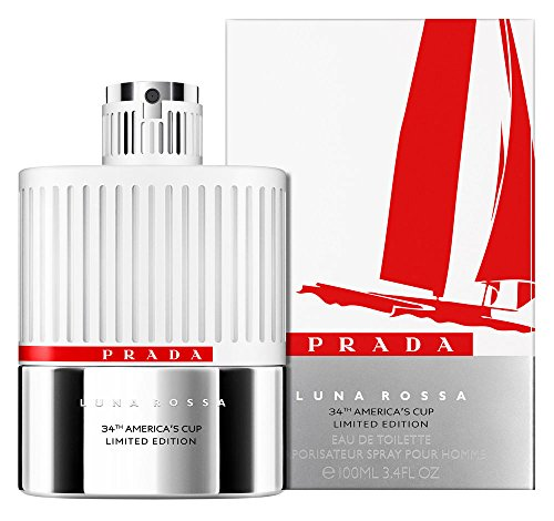 Prada Luna Rossa 34th America's Cup Limited Edition Spray Collector's Bottle, 3.4 Fluid Ounce
