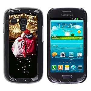 YiPhone /// Prima de resorte delgada de la cubierta del caso de Shell Armor - Design Circues Friends;; - Samsung Galaxy S3 MINI NOT REGULAR! I8190 I8190N