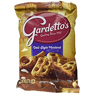 Gardetto's Rye Chips Roasted Garlic 7 ct, 5.5 Ounce (Pack of 7)