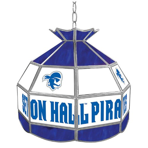 NCAA Seton Hall University Tiffany Gameroom Lamp, 16'' by Trademark Gameroom
