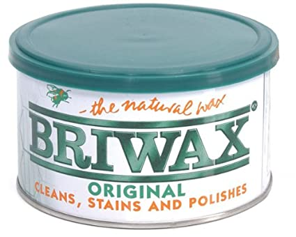 Briwax Light Brown Furniture Wax Polish Cleans Stains And