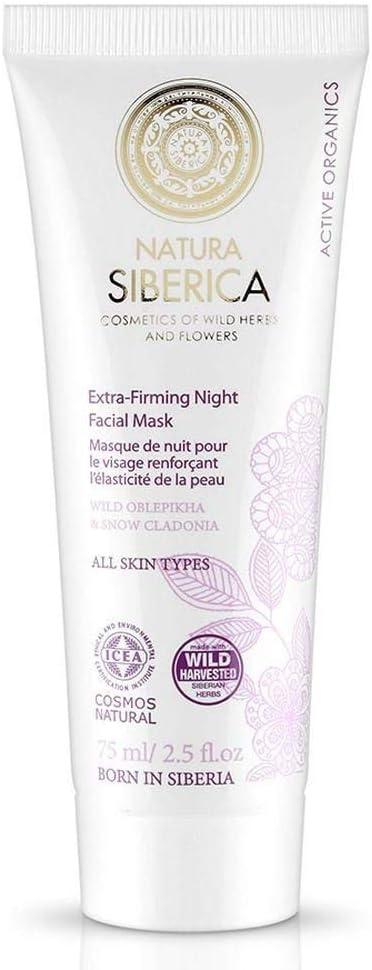 Natura Siberica Extra-Reafirmante de Noche Mascarilla Facial para Todo Tipo de Piel - 75 ml