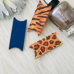 Animal Pack Tiger Leopard 6 File Wise Nail File Set 6 Bridal Wedding Shower Bridesmaids Bride Favor Beauty Manicure Birthday Nailfile DIY Nail Care Compact Mini Travel Bachelorette Party