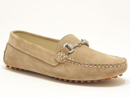 SAUSALITA - Mocasines para niño Beige Beige 35: Amazon.es: Zapatos y complementos