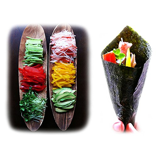 Kaneyama Yaki Sushi Nori/Dried Seaweed, Vacuum Packed/Re-Sealable, Premium Gold Grade, Full, 50 Sheets by Kaneyama (Image #4)