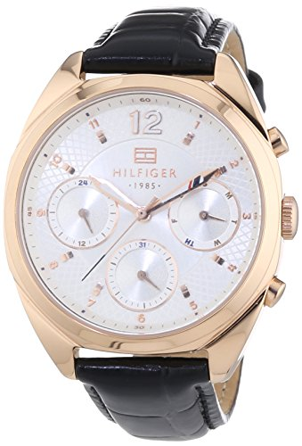 Tommy Hilfiger Watches Damen-Armbanduhr MIA Analog Quarz Leder 1781484
