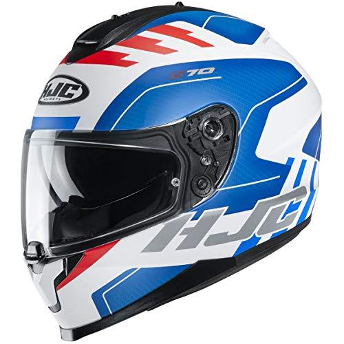 Casco HJC Helmets C70 - Koro (Pequeño) (Azul / Blanco / ROJO)
