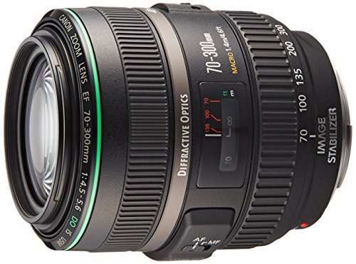 Canon EF 70-300mm f/4.5-5.6 DO IS USM Autofocus Telephoto Zoom Lens - USA - Special Promotional Bundle (Special Promotional Bundle)