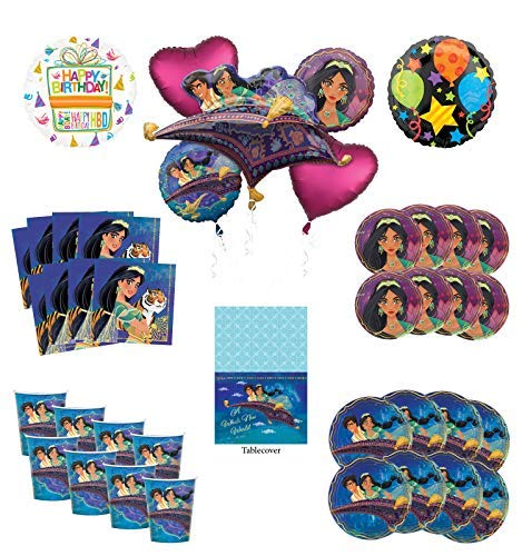 Mayflower Products Aladdin and Princess Jasmine Birthday Party