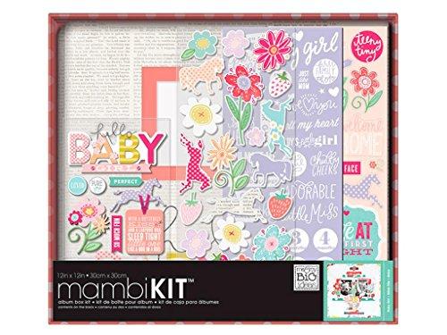 Me & My Big Ideas MAMBI Box Sweet Kit Album 12x12 Baby Girl