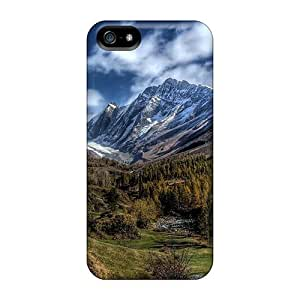 Design For HTC One M9 Phone Case Cover Durable Wonderful Mountainscape