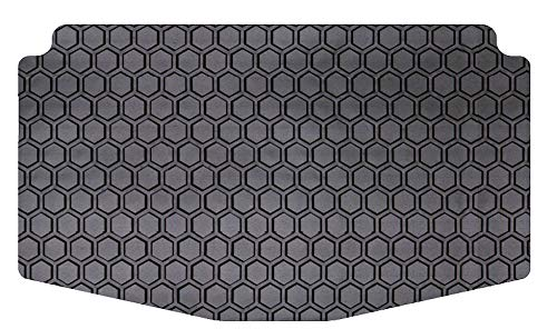 Intro-Tech BM-669-RT-B Hexomat Cargo Area Custom Fit Floor Mat for Select BMW i3 Models - Rubber-Like Compound, Small, Black ()