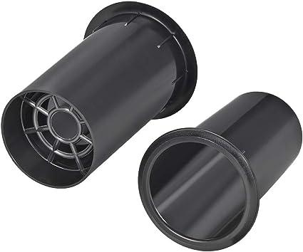 uxcell 10mm x 10mm Speaker Port Tube Subwoofer Bass Reflex Tube Bass  Woofer Box 10pcs