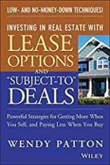 """By Wendy Patton Investing in Real Estate With Lease Options and """"Subject-To"""" Deals : Powerful Strategies for Getting (1st First Edition) [Paperback] Paperback"""