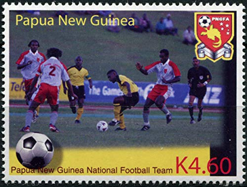 Papua New Guinea. 2004. PNG National Football Team (MNH) Stamp