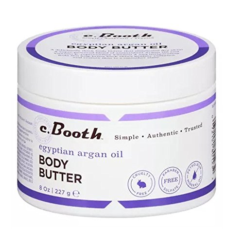 c. Booth Egyptian Argan Oil Body Butter, 8 oz - 2pc