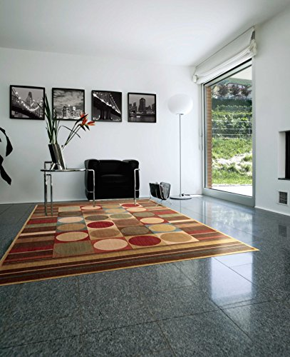 Somerset Multi Colored Rectangle Rug - 3