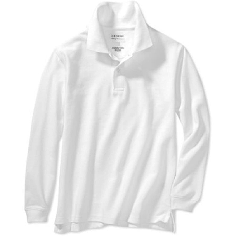 School Uniform White Polo Shirts Chad Crowley Productions