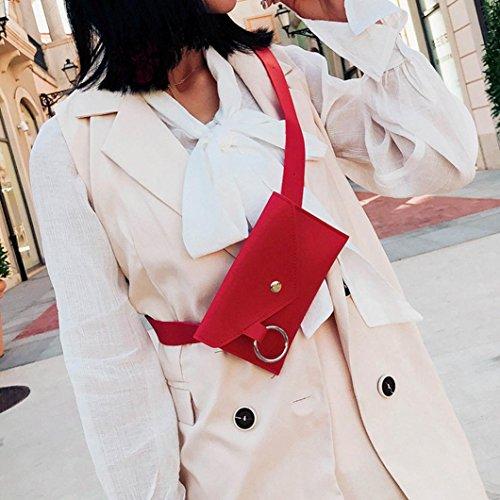 Cuir Mode Sac Bague Winkey Messenger Femme SnCqc1fw