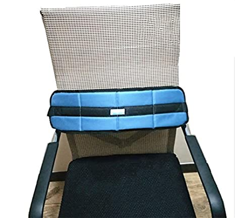 Amazon.com: luckyyan transpirable silla de ruedas Asiento ...