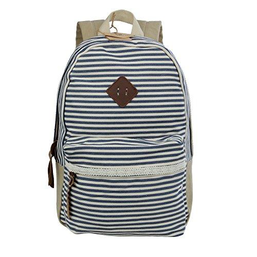 Koolertron Unisex Vintage Casual Daypack Fashion Pack Canvas Leather Travel...