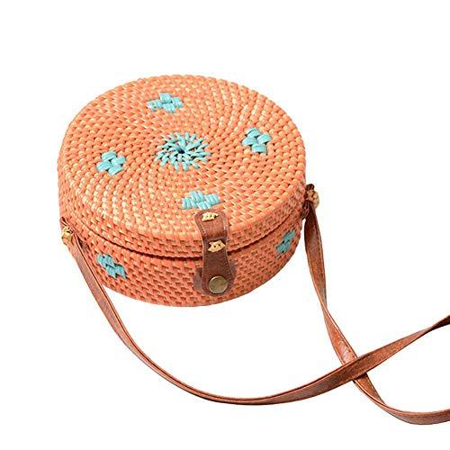 al para Storagc Hombro Azul Oscuro Bolso Naranja Mujer t55qgUw