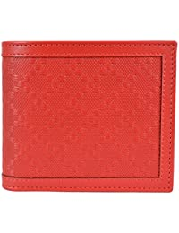 e259f731858 Men s Tabasco Red Leather Diamante Bifold Wallet