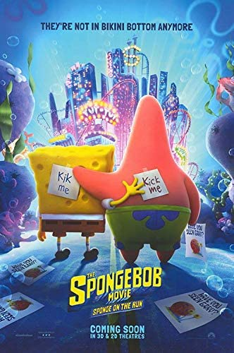 Spongebob Movie: Sponge On The Run - Authentic Original 27x40 Rolled Movie  Poster at Amazon's Entertainment Collectibles Store