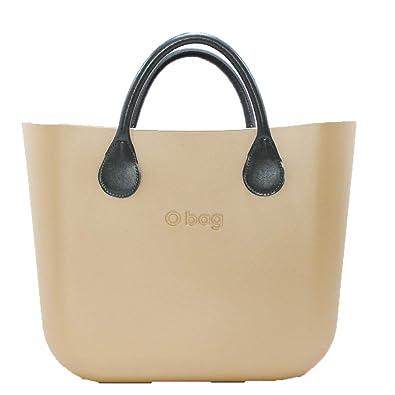 O BAG - Bolso de asas de goma para mujer Morado Lilla: Amazon.es: Zapatos y complementos