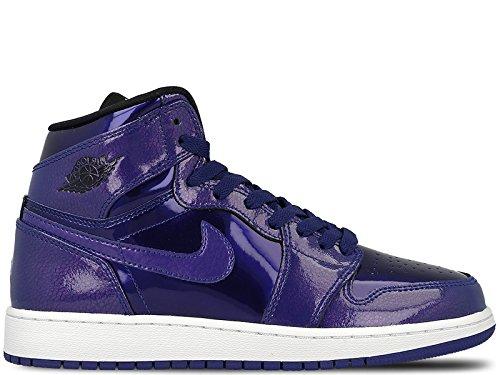 Nike Air Jordan 1 Retro High Basketball Shoe Boys Fashion-Sneakers bstn_705300-420_6Y - Deep Royal Blue/Black/White (Air Jordan 1 Retro Royal)