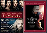 Broadway Musicals 2-Movie Pack - Les Miserables & The Phantom of the Opera (2-Disc Special Widescreen Edition) 2-Movie Bundle