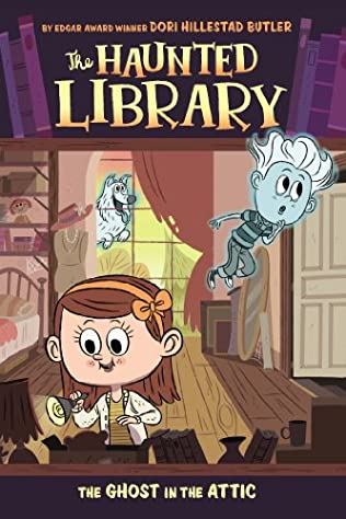 book cover of The Ghost in the Attic