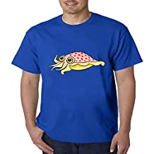 VIPxmax Art Cuttlefish Pastel Painting Fit Crew Neck Modal Short Sleeve Mens T-shirt