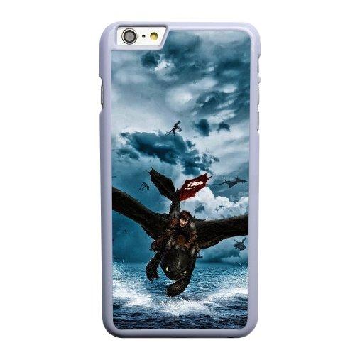 Coque,Apple Coque iphone 6 6S plus (5.5 pouce) Case Coque, Generic Train Your Dragon 2 Cover Case Cover for Coque iphone 6 6S plus (5.5 pouce) blanc Hard Plastic Phone Case Cover