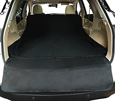 NAC&ZAC Waterproof SUV Cargo Liner, Pet Seat Cover with Extra Bumper Flap, Machine Washable Dog Cargo Cover