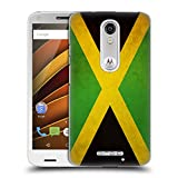 Head Case Designs Jamaica Jamaican Vintage Flags Hard Back Case for Motorola Moto X Play