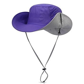 DORRISO Regolabile Cappello da Pesca Uomini Donne Antivento UPF 50+ Giungla Escursionismo  Vacanza Campeggio All d4a4cb4f8c2b