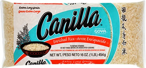 Goya Foods Canilla Long Grain Rice, 16-Ounce (Pack of (Canilla Rice)