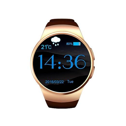 De alta definición Sport Smart Watch, LCD pantalla táctil, pédomètre reloj inteligente, vista
