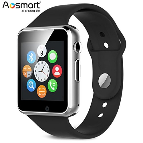 Bluetooth-Smart-Watch-with-Camera-Aosmart-B23-Smart-Watch-for-Android-Smartphones