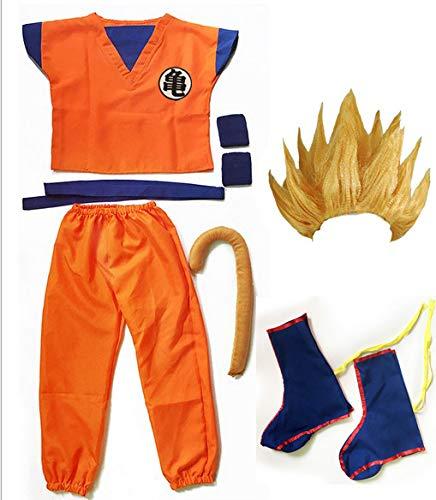 Dragon Ball z Goku Traje de Disfraz para Hijo Cosplay Disfraces ...