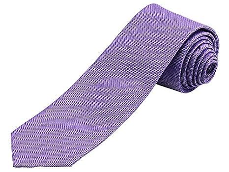 Mercedes - Corbata - para hombre morado lila talla única: Amazon ...
