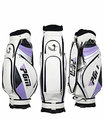 ゴルフバッグ、PU 人工皮革、8格子肥厚綿ジャックは Purple、13クラブ、ゴルフプロのゲームスポーツボールバッグを収容することができます Purple B07Q31YWKS B07Q31YWKS, リシリグン:881f7a63 --- lagunaspadxb.com