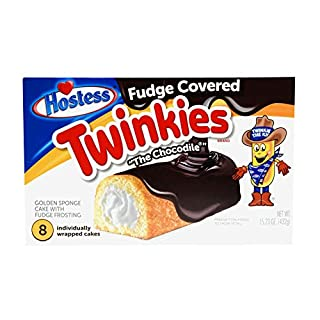Hostess Twinkies, 13.5 Ounce, 8 Count Box (Fudge Covered)