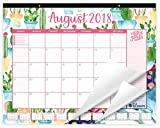 Bloom Daily Planners 2018-2019 Academic Year Desk or Wall Calendar (August 2018 Through July 2019) - 21'' x 16'' - Seasonal Designs