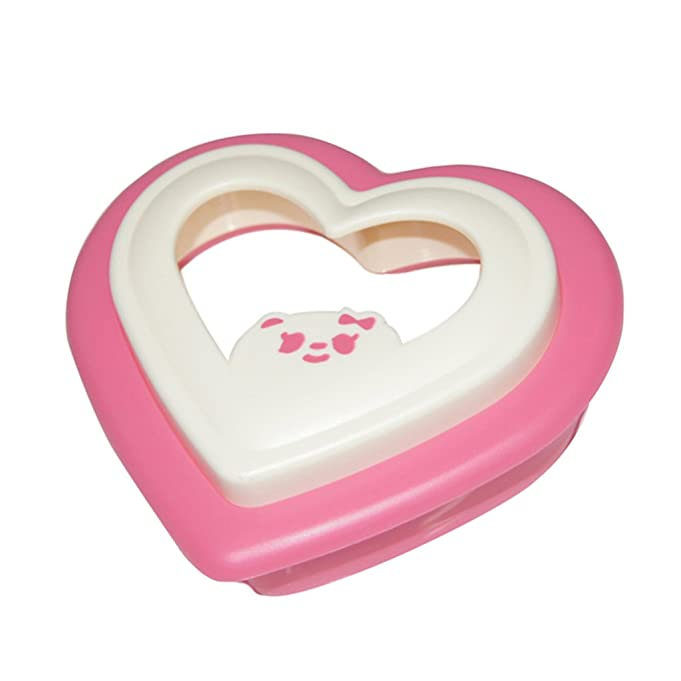 Amazon.com: ReNext Heart Shaped Sandwich Maker Bread Mould Cutter ...