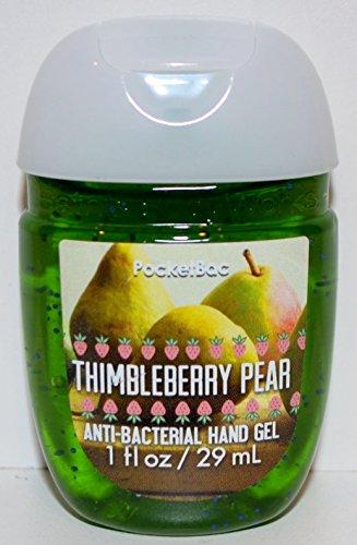Bath & Body Works PocketBac Hand Sanitizer Gel Thimbleberry Pear (Kiwi Pear Hand Soap)