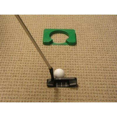 Executive Travel Putter with Telescoping Shaft and Simulated Hole by Creative Golf Designs