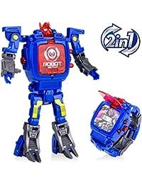 Robot Watch Toys Deformed Watch Toy Deformation Robot...